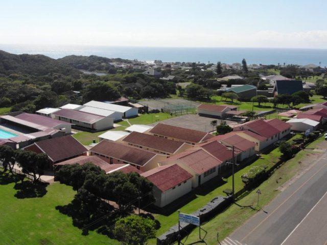 Kidds Beach Primary School Aerial View
