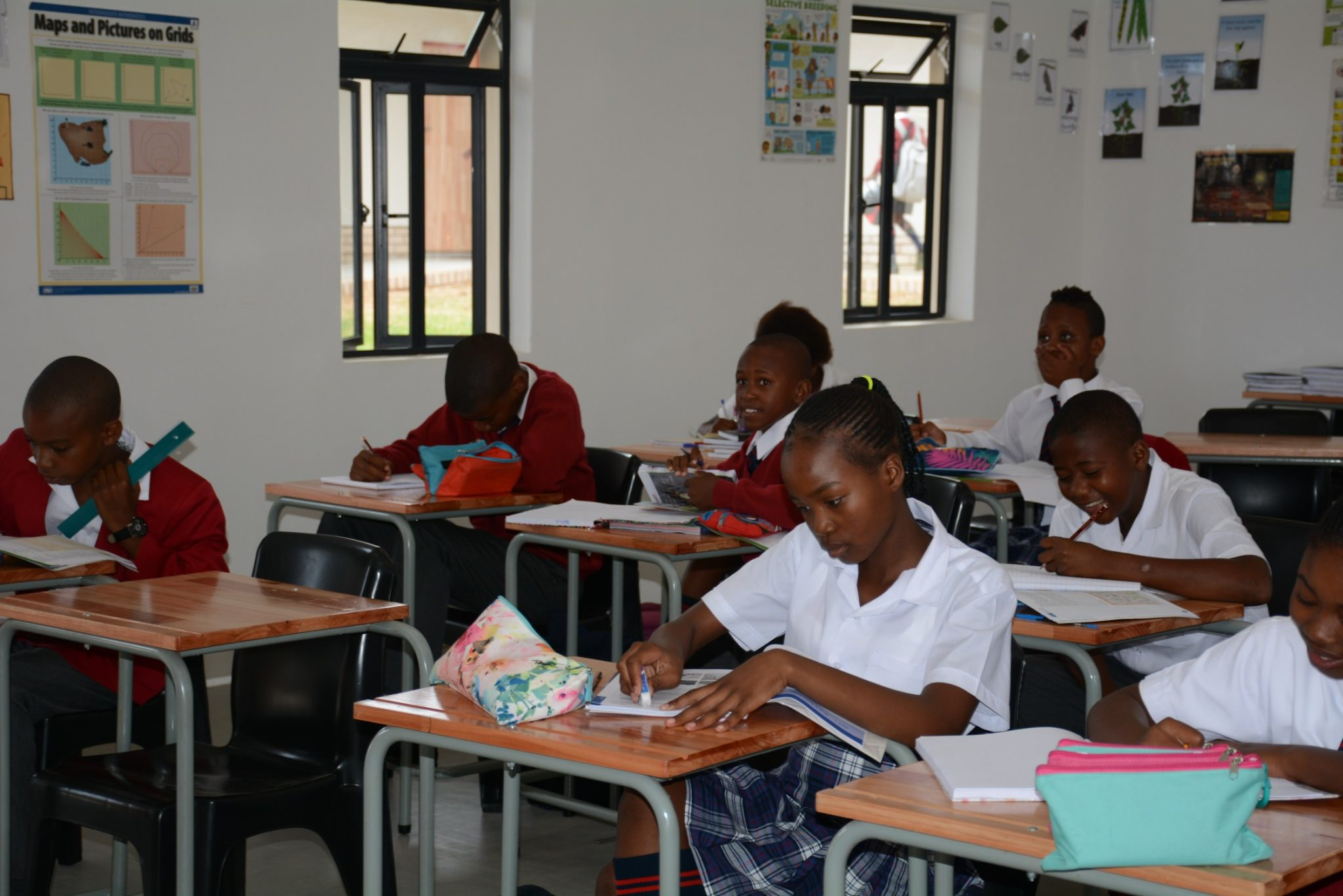 St Christophers Private School Children Studying
